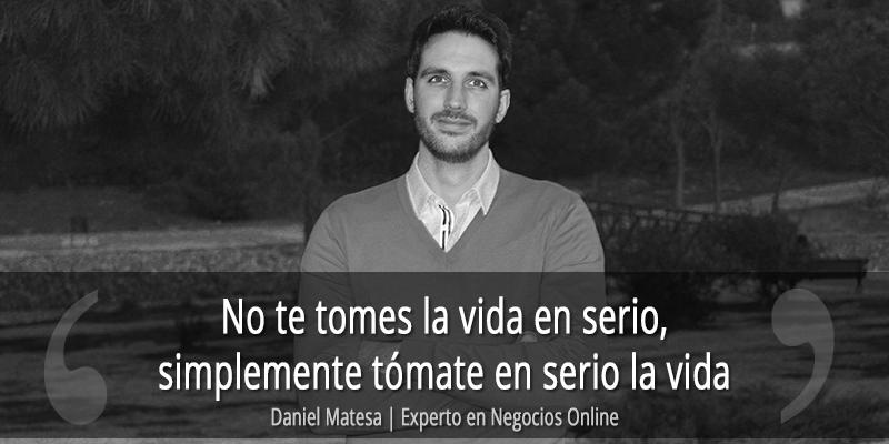 Sobre mi - Daniel Matesa